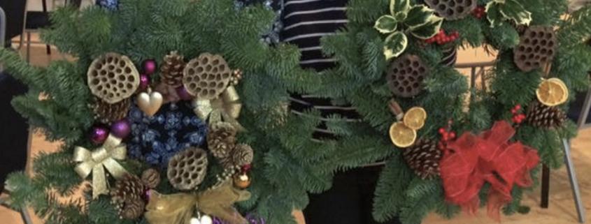 Making Christmas.Christmas Wreath Making 2019 St Augustine S Parish Centre